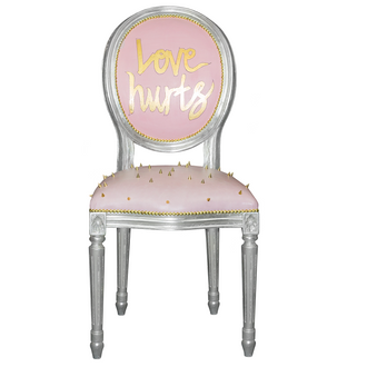Side Chair Love Hurts