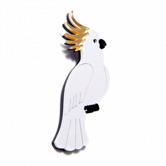 Pop Art Pin Cockatiel