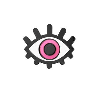 Pop Art Pin Glamour Eye Pink