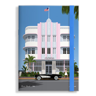 Notebook Miami Deco