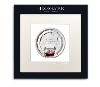 L'Iconolatre Photo Print Coffee Lid with Lipstick