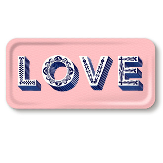 Tray Love Pink
