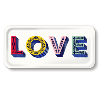 Tray Love Multicolor