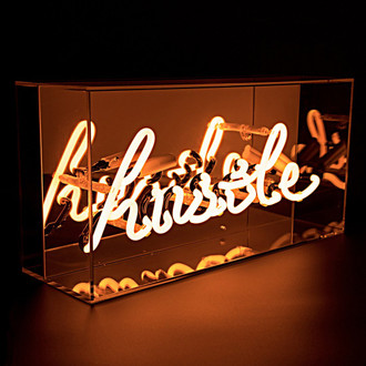 Neon Light Box Hustle