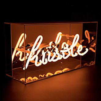 Neon Light Box Hustle