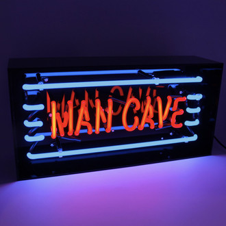 Neon Light Box Mancave