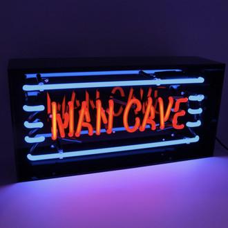 Neon Light Box Mancave