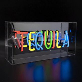 Neon Light Box Tequila