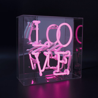 Neon Light Box LOVE
