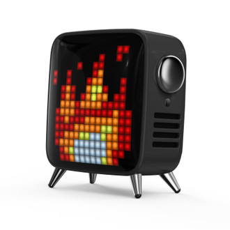 Tivoo-Max Pixel Art Speaker, Black