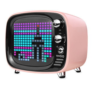 Tivoo Pixel art Speaker, Pink