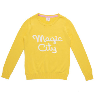 Sweater Magic City, Yellow