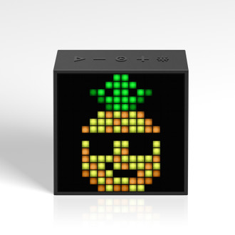 Timebox-Evo Pixel Art Speaker, Black