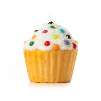 Candle Cupcake Giant, Yellow