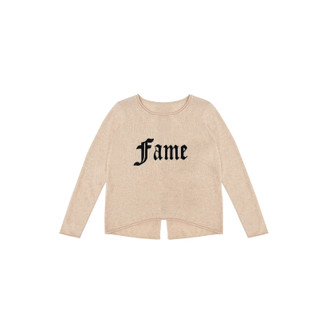 Sweater Cashmere FAME, Beige