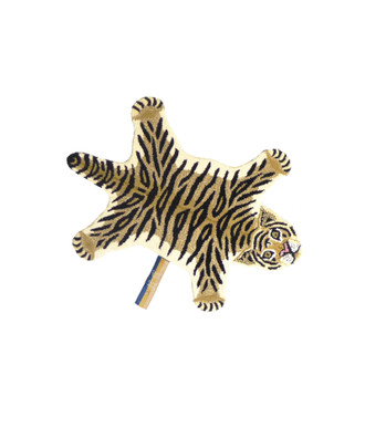 Animal Print Accent Rug - Drowsy Tiger Small
