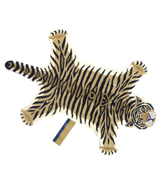 Animal Print Accent Rug - Drowsy Tiger, Large