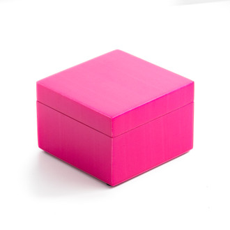 Lacquer Box Square Hot Pink