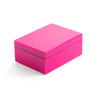 Lacquer Box Rectangle Hot Pink
