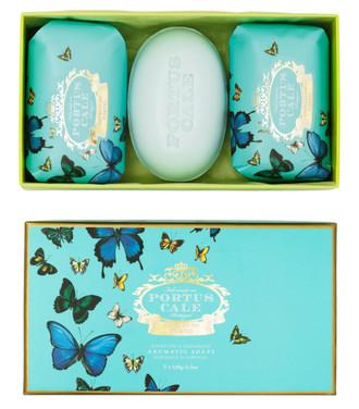 Soap Portus Cale, Butterflies