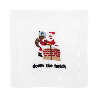 Cocktail Napkins 'Down The Hatch'