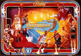 LED Replacement Display for NBA Fastbreak Pinball Machine