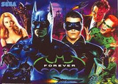 X-LED 192x64 Replacement Display for Batman Forever Pinball Machine