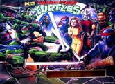H-LED 128x16 Replacement Display for Teenage Mutant Ninja Turtles Pinball Machine