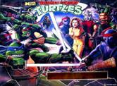 H-LED 128x16 Replacement Display for Teenage Mutant Ninja Turtles Pinball Machine
