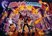 ColorDMD Replacement Display for Medieval Madness Pinball Machine