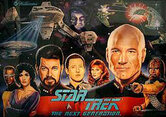 ColorDMD Replacement Display for Star Trek: The Next Generation  Pinball Machine