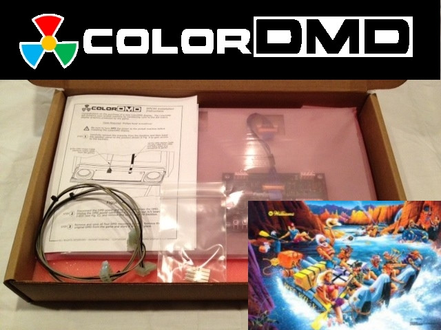 ColorDMD Replacement Display for White Water Pinball Machine