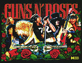 LED Replacement Display for Guns N' Roses Pinball Machine