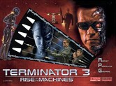 LED Replacement Display for Terminator 3: Rise of the Machines  Pinball Machine
