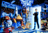 LED Replacement Display for Twilight Zone Pinball Machine