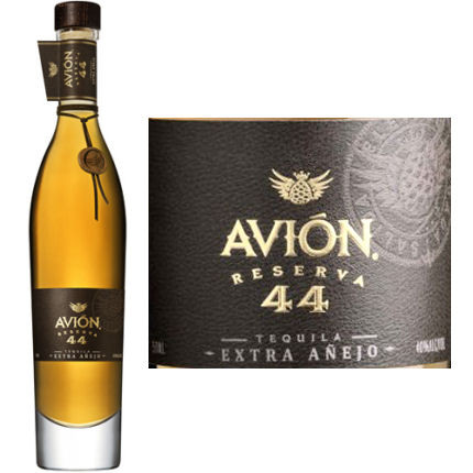 2e21f3f59d0 Avion Reserva 44 Extra Anejo Tequila 750ml. Loading zoom