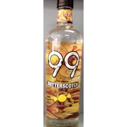 99 Butterscotch Schnapps Liqueur 750ml Loading Zoom