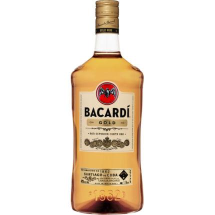 Bacardi Gold Puerto Rico Rum 1 75l