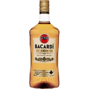 Bacardi Gold Puerto Rico Rum 1.75L