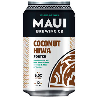 Maui Brewing Coconut Hiwa Porter 4pk 12oz Cans