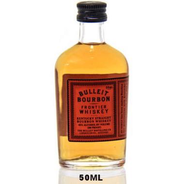 50ml Mini Bulleit Kentucky Straight Bourbon Frontier Whiskey