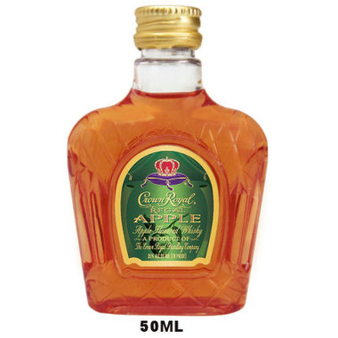 50ml Mini Crown Royal Regal Apple Flavored Canadian Whisky