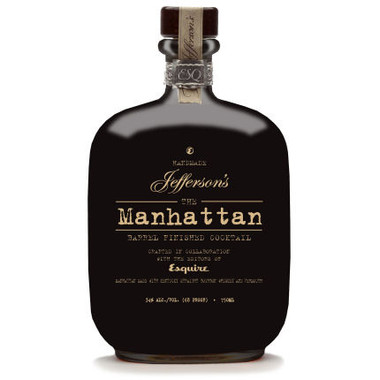 Jefferson's The Manhattan Barrel Finished Cocktail 750ml