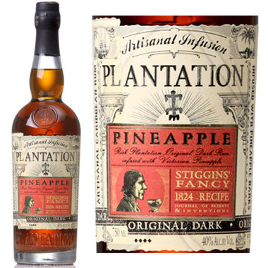 Plantation Pineapple Infused Original Dark Rum 750ml