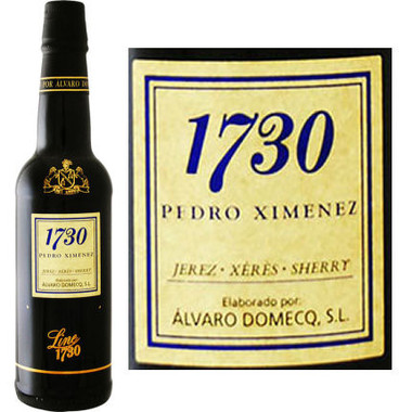 Alvaro Domecq 1730 Pedro Ximenez Jerez Sherry 375ml