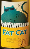 12 Bottle Case Fat Cat California Chardonnay 2016 w/ Free Shipping