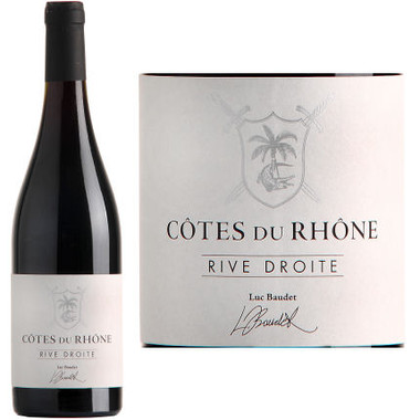 Luc Baudet Rive Droite Cotes du Rhone Rouge