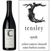 Tensley Colson Canyon Vineyard Santa Barbara Syrah 2015 Rated 994-97VM