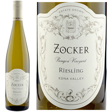 Zocker Paragon Vineyard Edna Valley Riesling