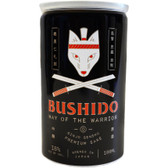 Bushido Way of the Warrior Ginjo Genshu Sake 180ml Can